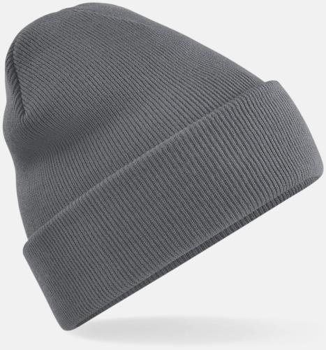 Graphite Grey Stickad mössa i många färgstarka alternativ