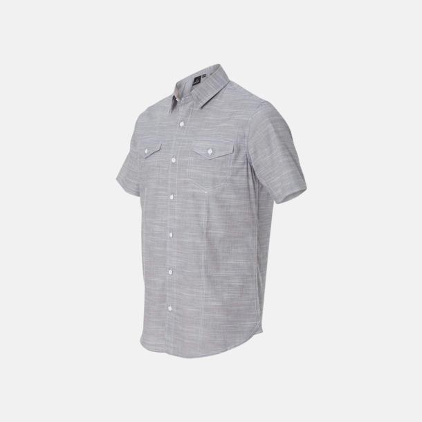 """""""Vävda"""" skjortor med reklamlogo"""