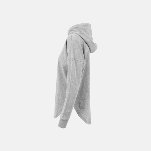 Dam hoodies i oversize med reklamtryck