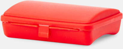 Röd (PMS 485) First Aid Case - Med tryck