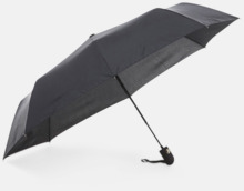 Kompakt paraply av återvunnen PET med reklamtryck