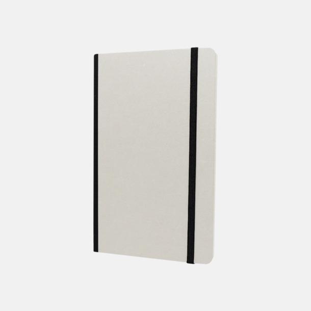 Vit / Svart Vita anteckningsböcker från Moleskine med reklamtryck