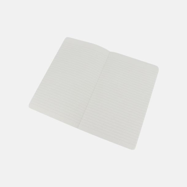 Vita anteckningsböcker från Moleskine med reklamtryck