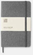 Medelstora anteckningsböcker (ca B6) från Moleskine med reklamtryck