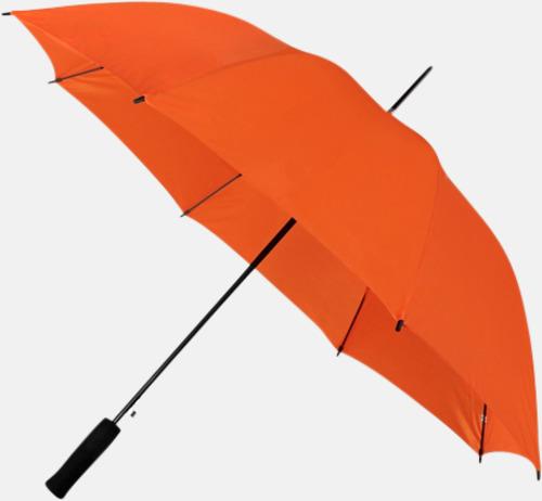 Orange (PMS 021C) Paraplyer med reklamtryck