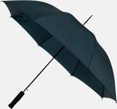 Marinblå (PMS 296C) Paraplyer med reklamtryck