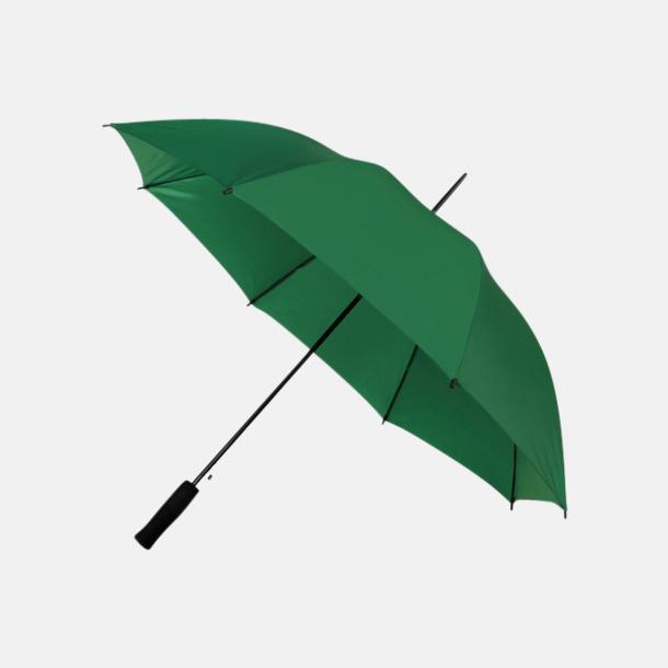 Mörkgrön (PMS 567C) Paraplyer med reklamtryck