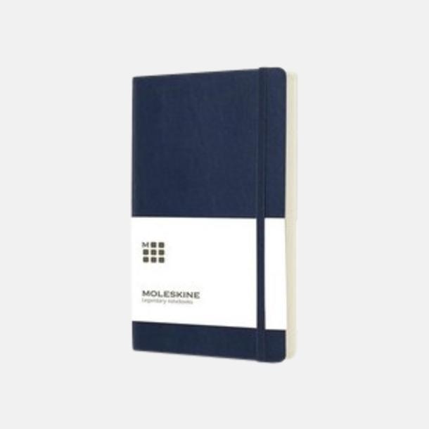 Mörkblå (large, softcover) Dagskalendrar 2019 frå Moleskine med reklamtryck