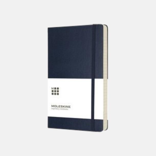 Mörkblå (large, hardcover) Dagskalendrar 2019 frå Moleskine med reklamtryck