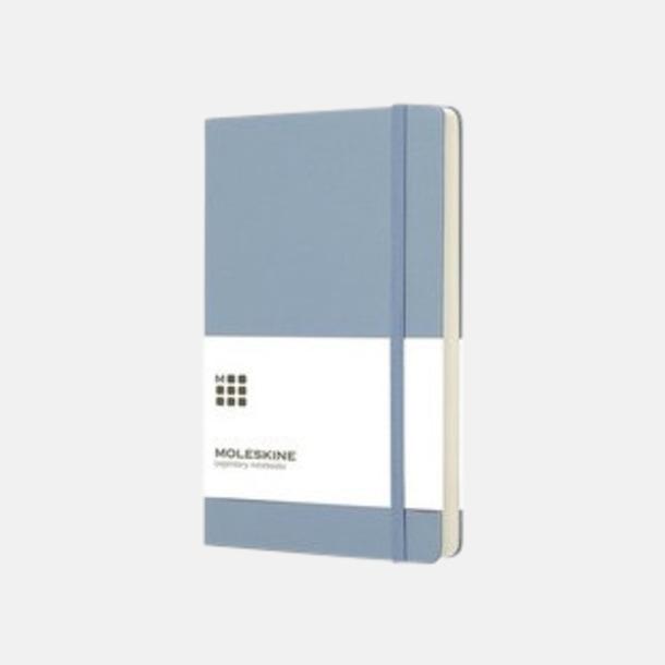 Ljusblå (large, hardcover) Dagskalendrar 2019 frå Moleskine med reklamtryck