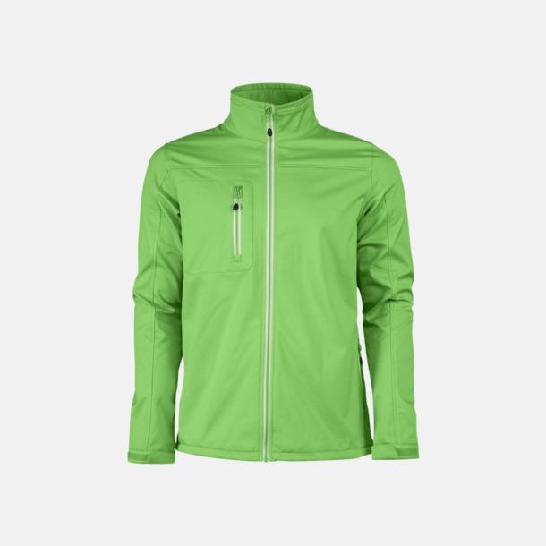 Lime (herr) 3-lagers softshell jackor med reklamtryck