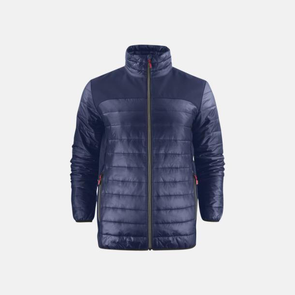 Marinblå (herr) Lättvikts softshell jackor med reklamlogo