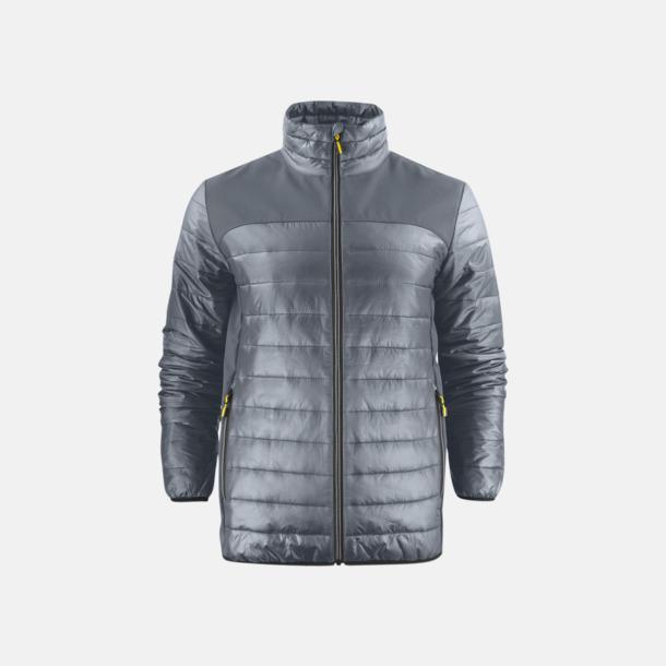 Steel Grey (herr) Lättvikts softshell jackor med reklamlogo
