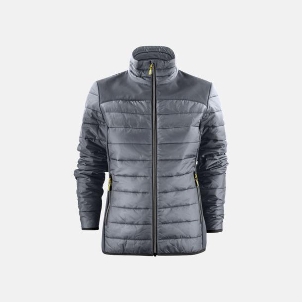 Steel Grey (dam) Lättvikts softshell jackor med reklamlogo