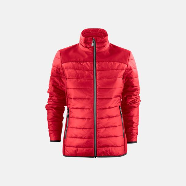Röd (dam) Lättvikts softshell jackor med reklamlogo