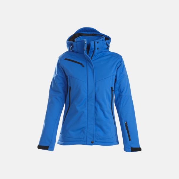 Ocean Blue (dam) Vadderade jackor med löstagbar huva - med reklamtryck