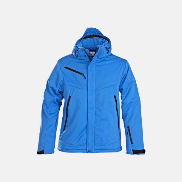 Ocean Blue (herr) Vadderade jackor med löstagbar huva - med reklamtryck
