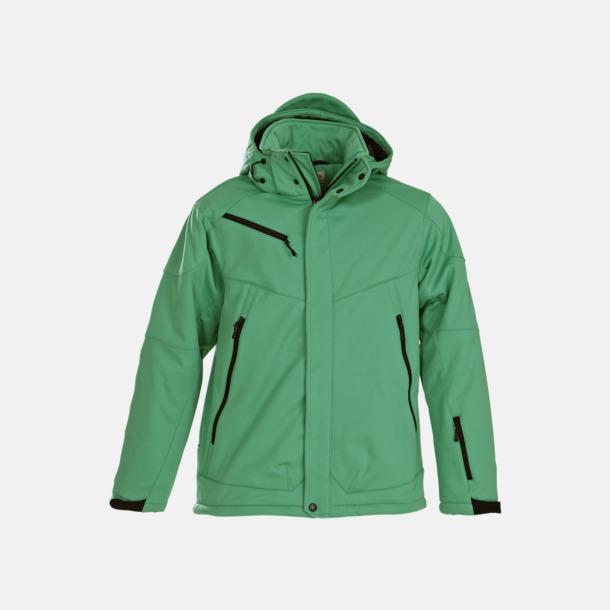 Fresh Green (herr) Vadderade jackor med löstagbar huva - med reklamtryck