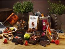 Presentkartong fylld med choklad