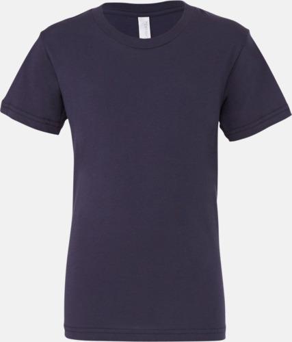 Marinblå (ungdom) T-shirts för baby, barn & ungdom - med reklamtryck