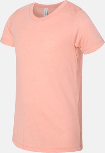 Peach Triblend heather (ungdom) T-shirts för vuxna & barn - med reklamtryck
