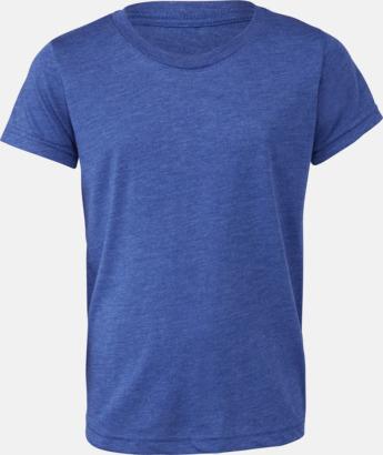 True Royal Triblend heather (ungdom) T-shirts för vuxna & barn - med reklamtryck