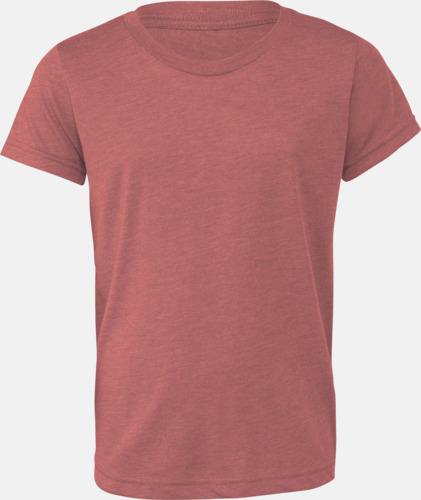 Mauve Triblend heather (ungdom) T-shirts för vuxna & barn - med reklamtryck