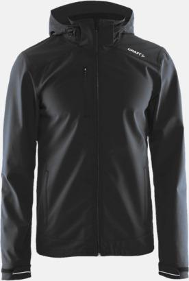 Asphalt (herr) Softshell jackor från Craft med eget reklamtryck
