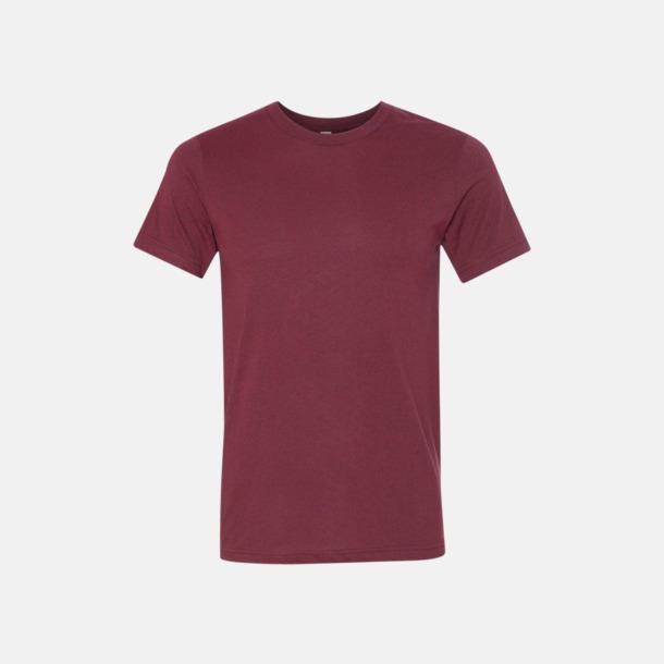Heather Cardinal T-shirts för herr och dam - med reklamtryck