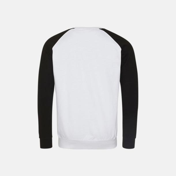 Kontrast tröjor med reklamtryck