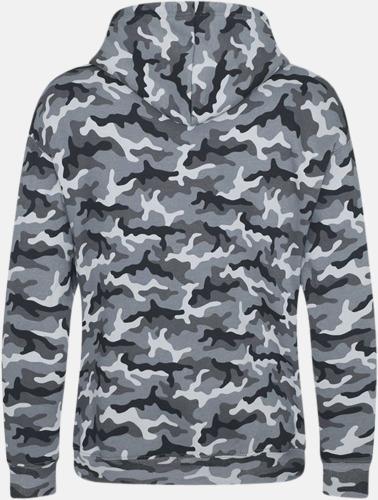 Kamouflage mönstrade huvtröjor med reklamtryck