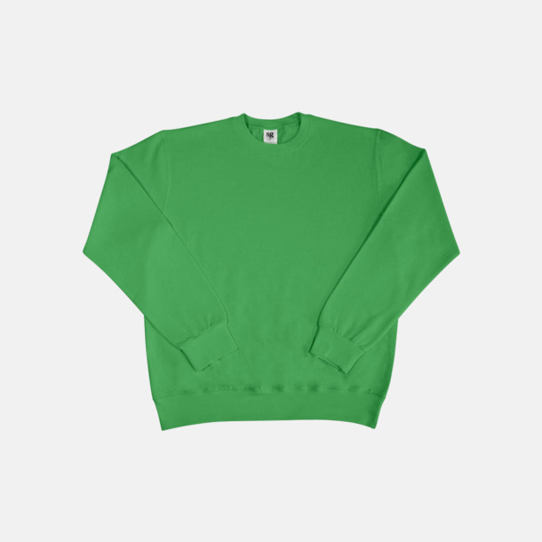 Grön Sweatshirts i herr, dam & barn med reklamtryck