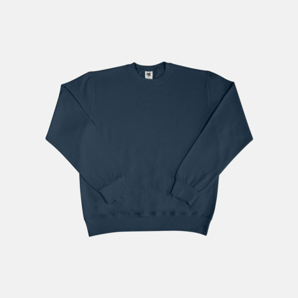 Denim Sweatshirts i herr, dam & barn med reklamtryck