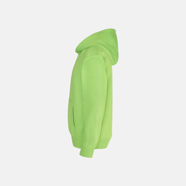 Huvtröjor för barn i neonfärger med reklamtryck