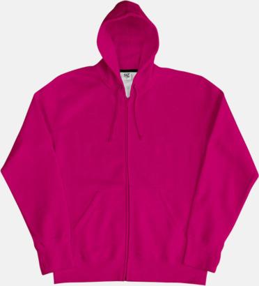 Mörkrosa/Marinblå (herr) Kvalitetshuvtröjor för herr, dam & barn med reklamtryck