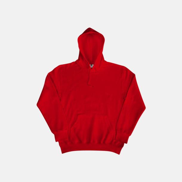 Röd (herr) Fina huvtröjor för herr, dam & barn med reklamtryck