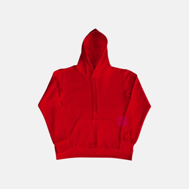 Röd (dam) Fina huvtröjor för herr, dam & barn med reklamtryck