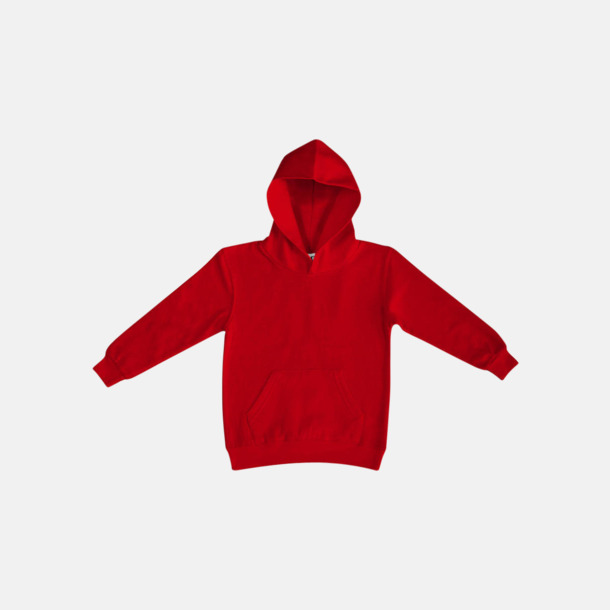 Röd (barn) Fina huvtröjor för herr, dam & barn med reklamtryck