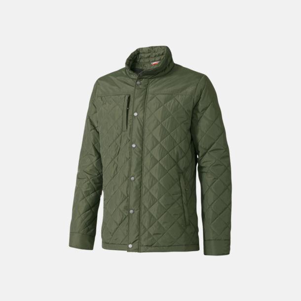 Army Green (herr) Fina jackor från Slazenger med reklamtryck