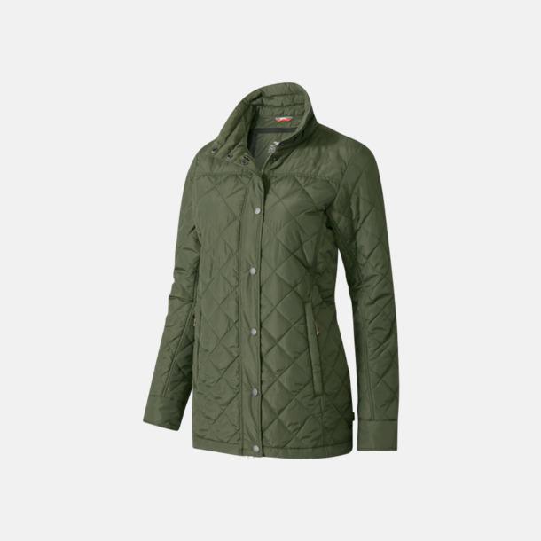 Army Green (dam) Fina jackor från Slazenger med reklamtryck