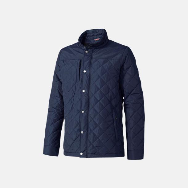 Marinblå (herr) Fina jackor från Slazenger med reklamtryck
