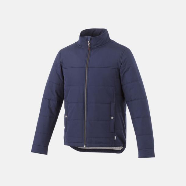 Marinblå (herr) Fodrade jackor från Slazenger med reklamtryck