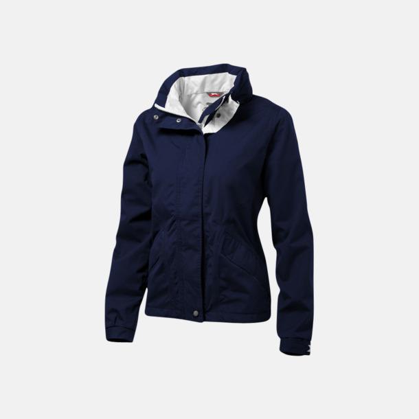 Marinblå (dam) Slazenger jackor med reklamtryck