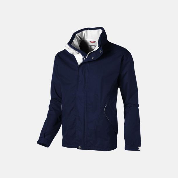Marinblå (herr) Slazenger jackor med reklamtryck