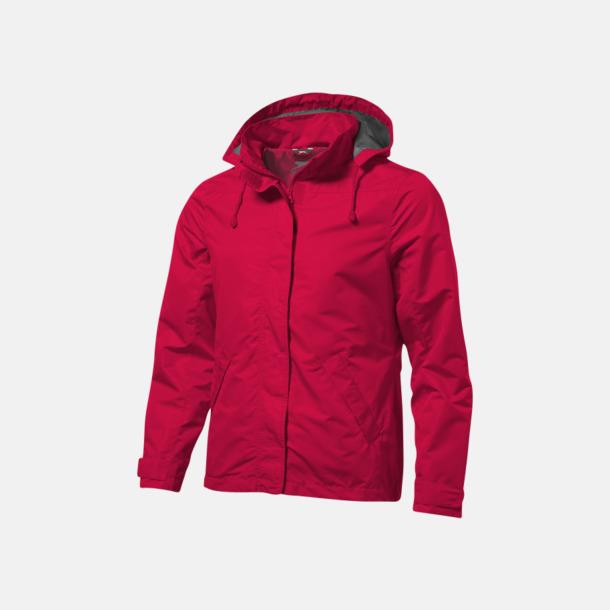 Röd (herr) Funktionella jackor från Slazenger med reklamtryck