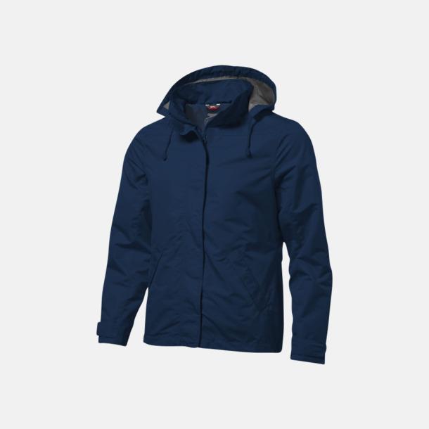 Marinblå (herr) Funktionella jackor från Slazenger med reklamtryck