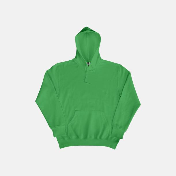 Grön (herr) Fina huvtröjor för herr, dam & barn med reklamtryck