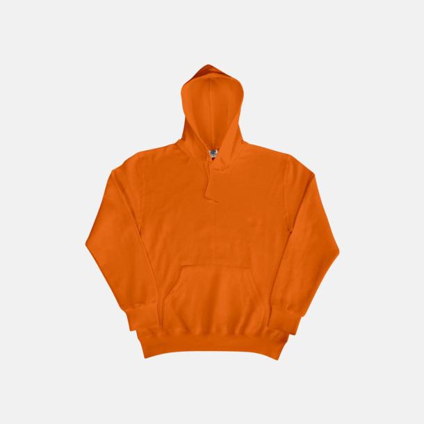 Orange (herr) Fina huvtröjor för herr, dam & barn med reklamtryck