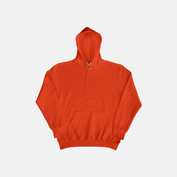 Bright Orange (herr) Fina huvtröjor för herr, dam & barn med reklamtryck