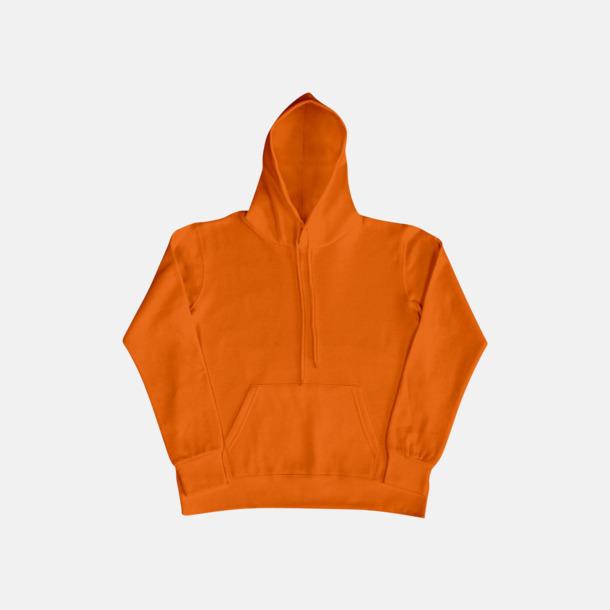 Orange (dam) Fina huvtröjor för herr, dam & barn med reklamtryck